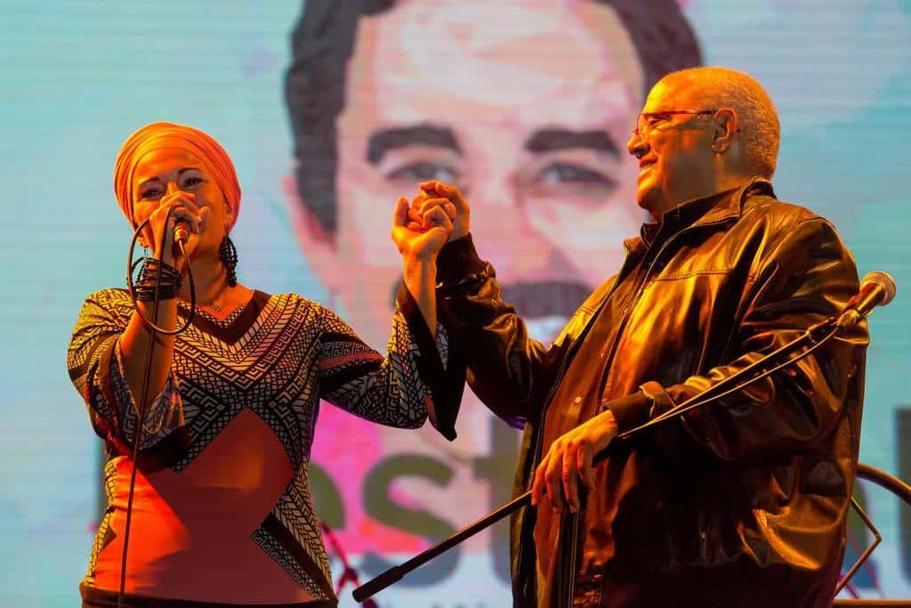 Concierto de Pablo Milanés en homenaje a Gabo. Foto: David Estrada Larrañeta /FNPI