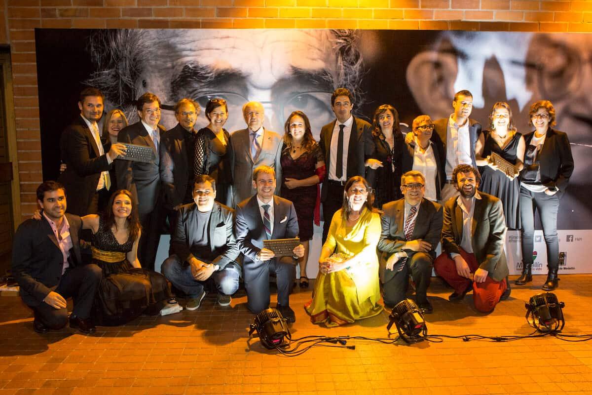 Ganadores del Premio Gabo 2014.
