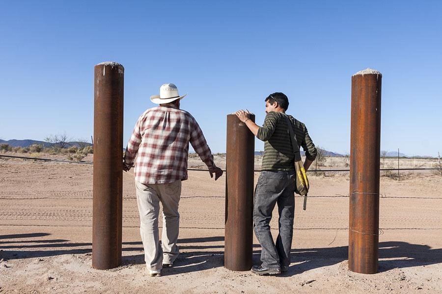 Fotografía de la serie Northern Border © Eduardo Soteras Jalil / El Faro