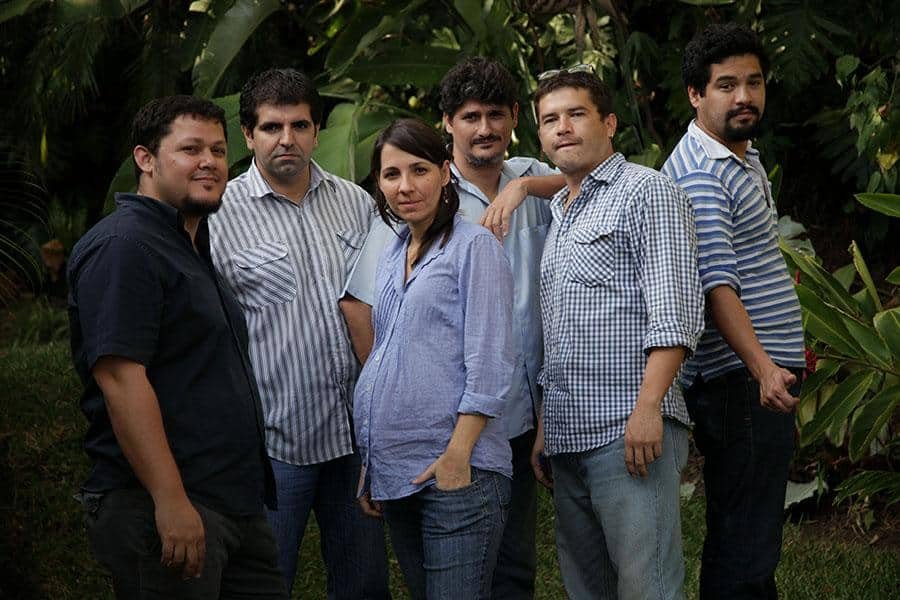 Integrantes del equipo de El Faro