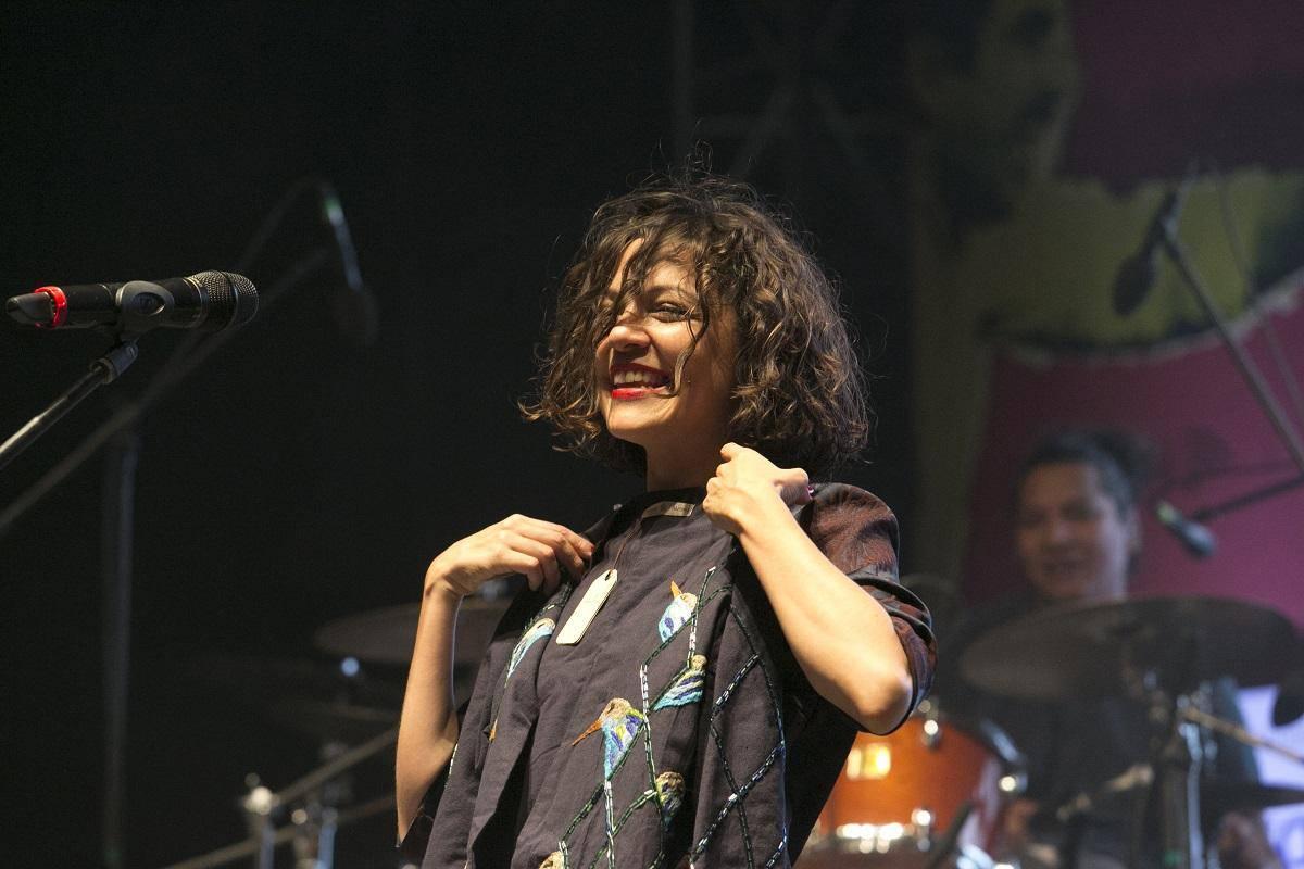 Natalia Lafourcade. Foto: Julián Roldán