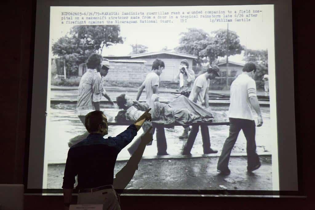 Taller Videoperiodismo de Mochila. Foto: David Estrada Larrañeta/FNPI.