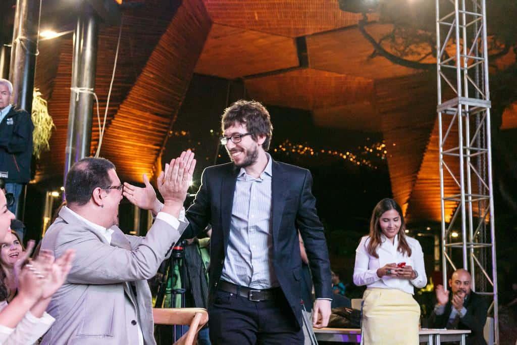 Ceremonia del Premio Gabriel Garcia Marquez.Julián Roldán/FNPI.