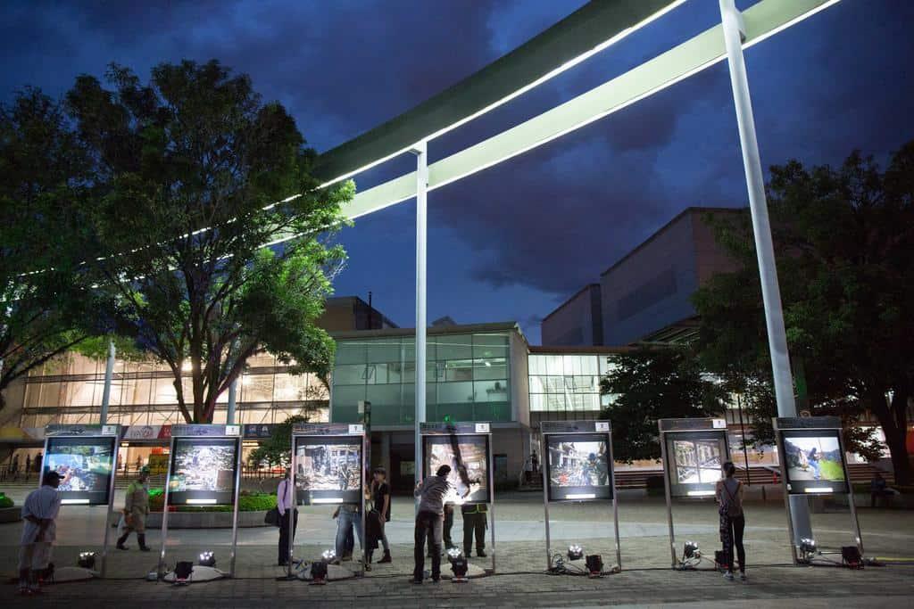 Exposición fotográfica El 9, curada por Stephen Ferry. Foto: David Estrada Larrañeta / FNPI