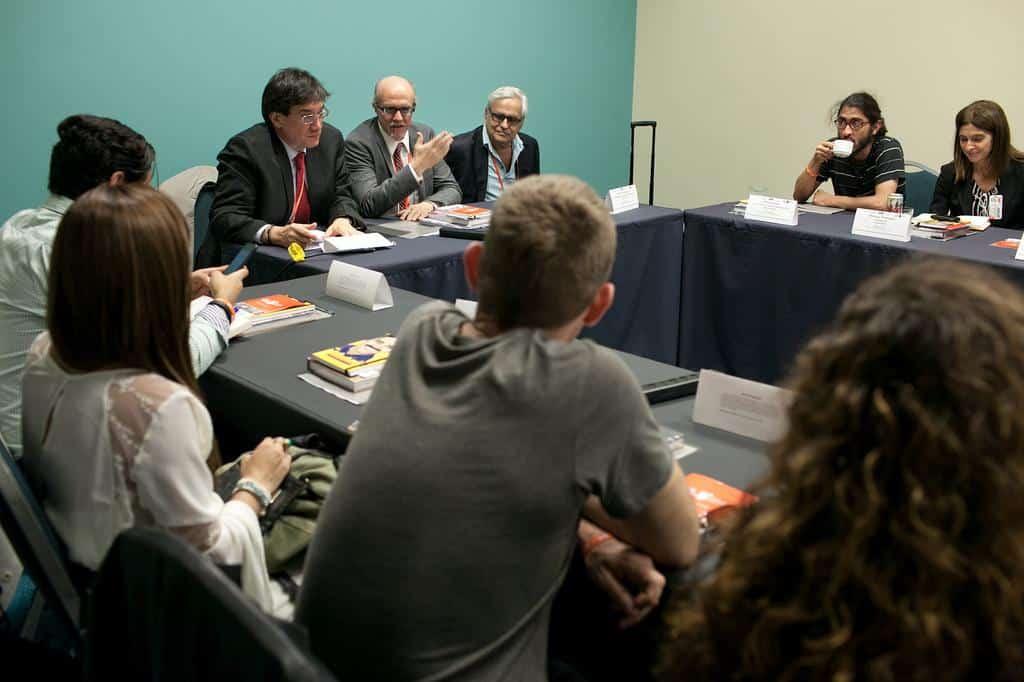Taller El periodismo que cuenta. Foto: Alberto Bartolomei/FNPI.