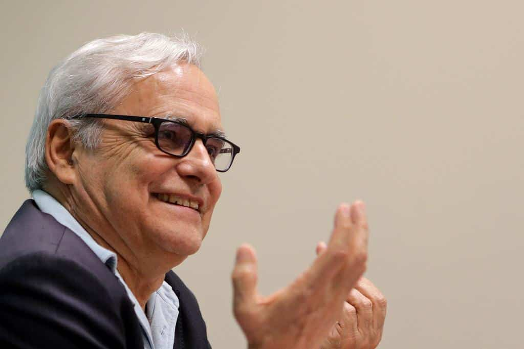 Juan Cruz en el taller El periodismo que cuenta. Foto: Gabriel López Albarrán.