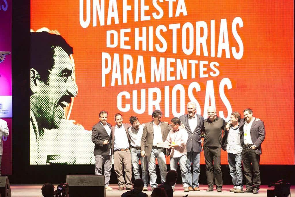 Equipo de El Faro, ganador del Reconocimiento a la excelencia. Foto: Julián Roldán/FNPI.