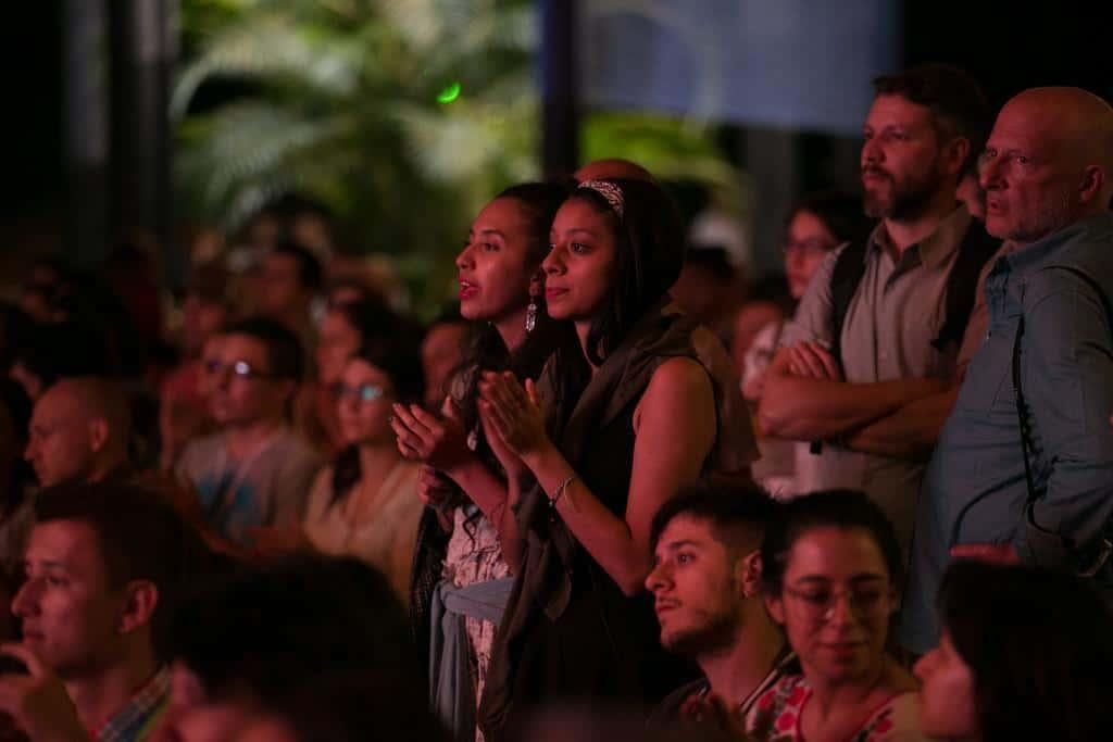 Charla 'Hasta la Raíz' con Natalia Lafourcade. Foto: David Estrada/FNPI.