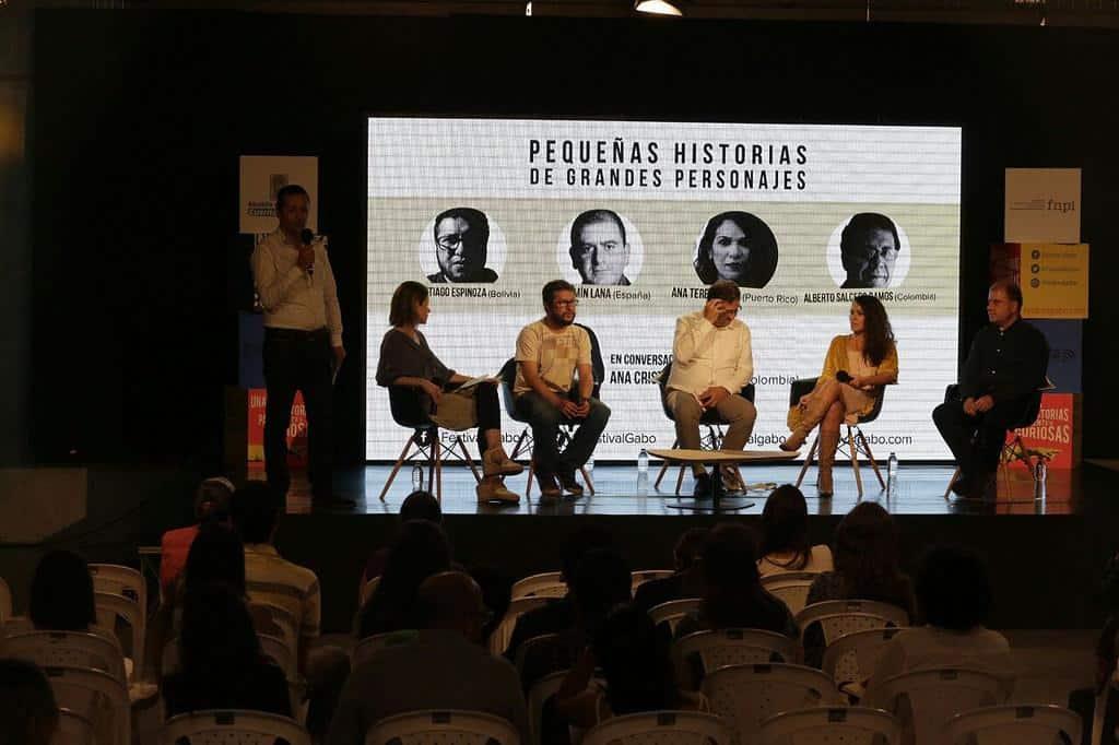 Charla 'Pequeñas historias de grandes personajes'. Foto: /FNPI