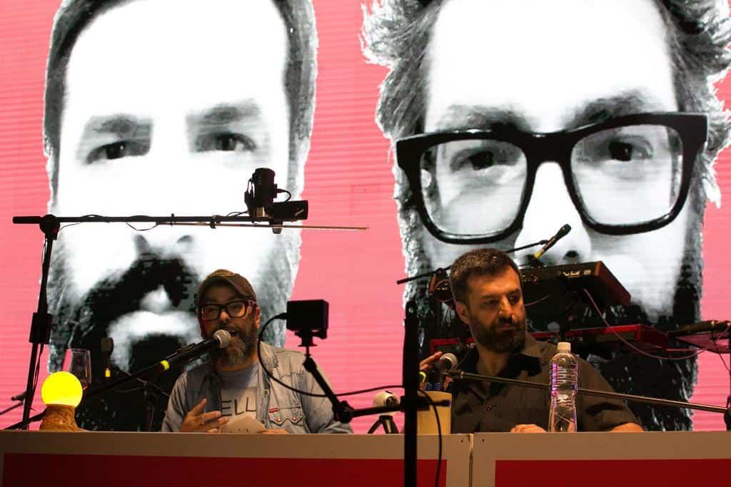 Ricardo Siri Liniers y Alberto Montt. Foto: David Estrada/FNPI.