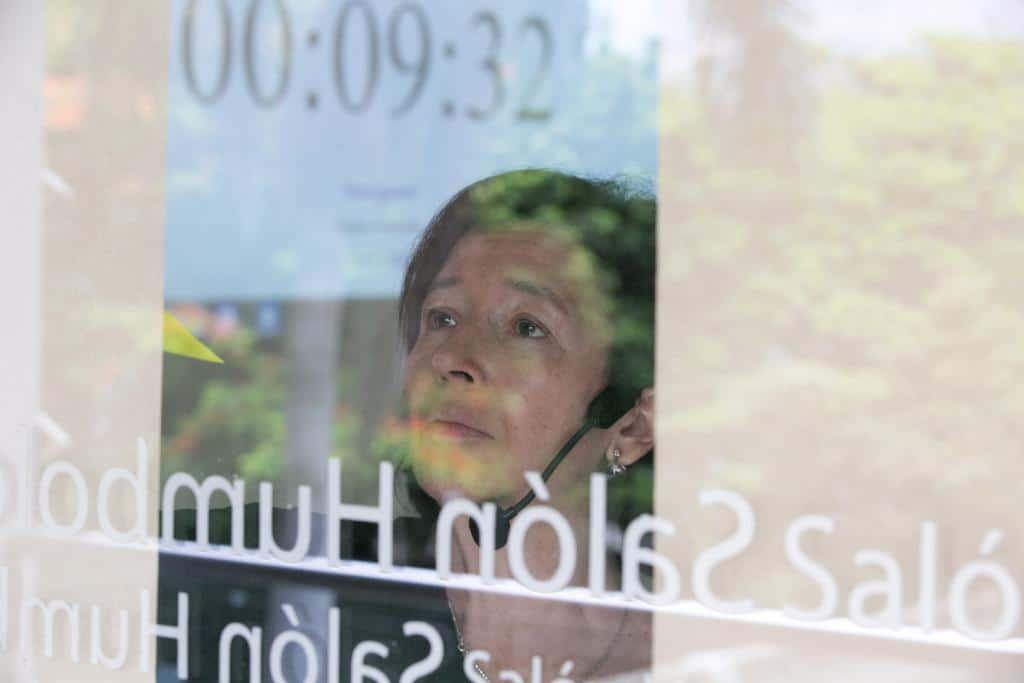 María Teresa Ronderos en el taller 'El sueño de empezar una iniciativa periodística'. Foto: Julián Roldán/FNPI.
