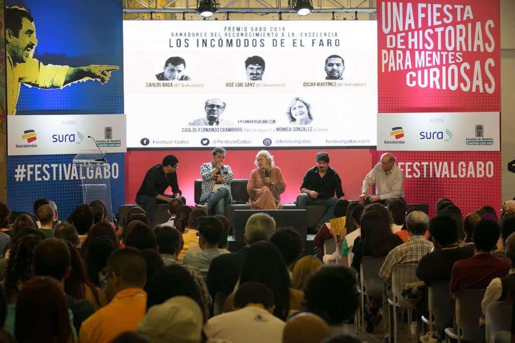 Charla 'Los incómodos de El Faro' .Foto: David Estrada/FNPI.