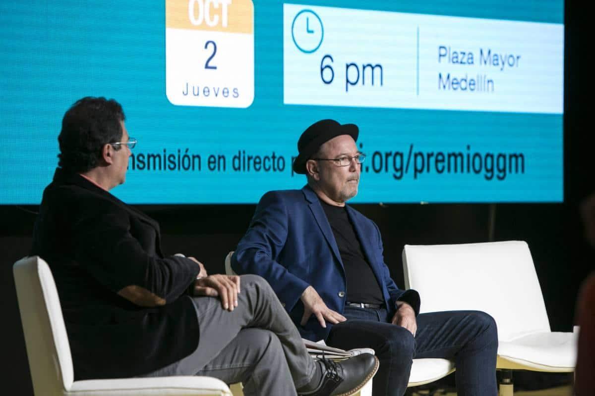 Tercer día: charla 'Gabo, la crónica y la música'. Foto: Julián Roldán/ FNPI.