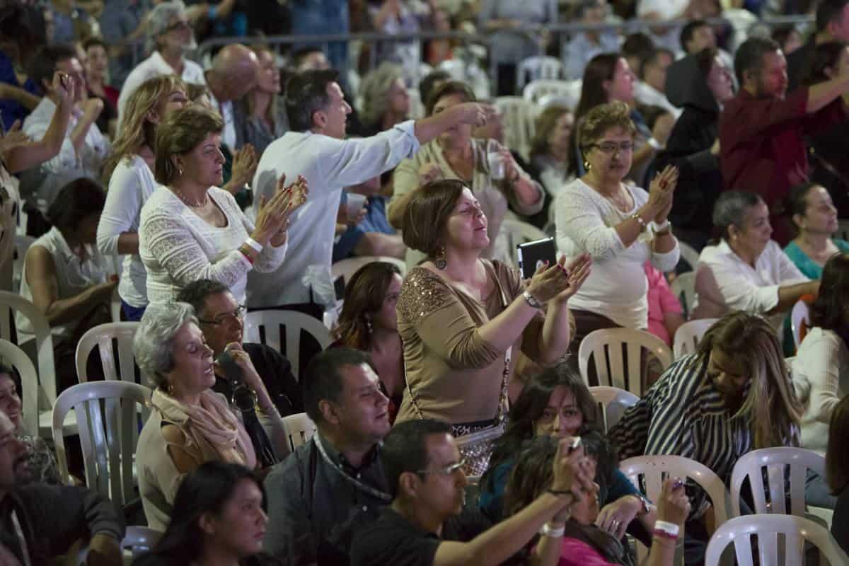 Primer día: concierto Tania Libertad. Foto: David Estrada/ FNPI.