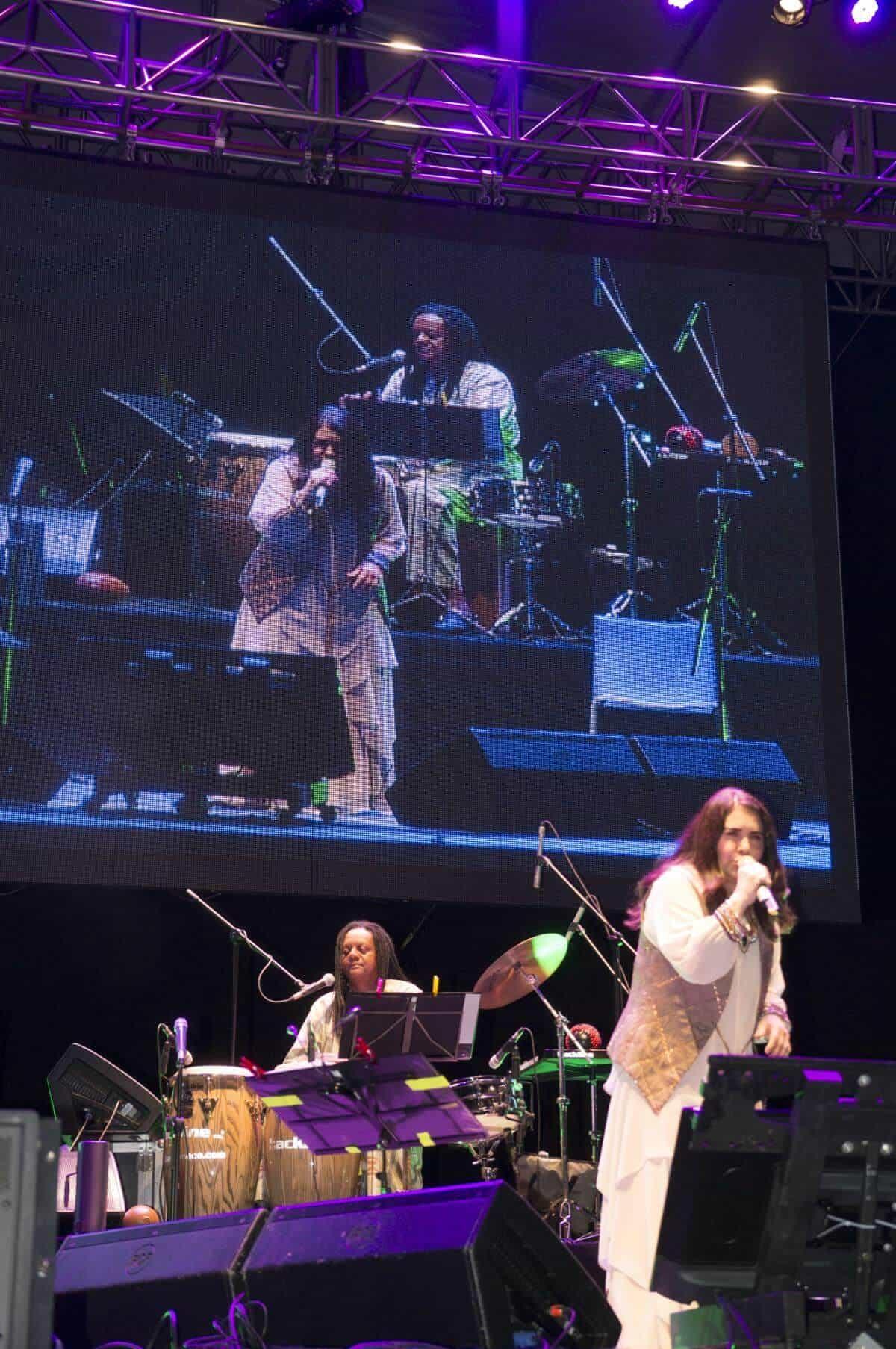 Primer día: concierto Tania Libertad. Foto: Isabel Tobón/ FNPI.