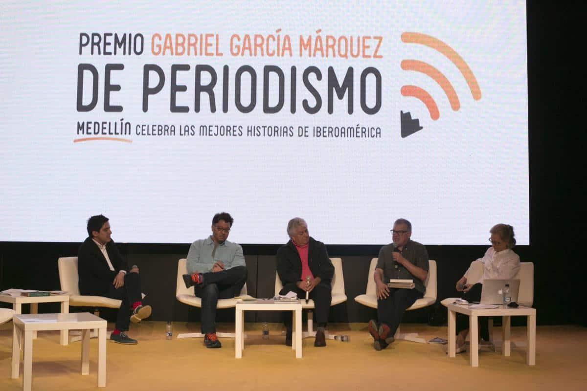 Tercer día: panel sobre periodismo y América Latina 'Cubrir un continente'. Foto: Julián Roldán/ FNPI.