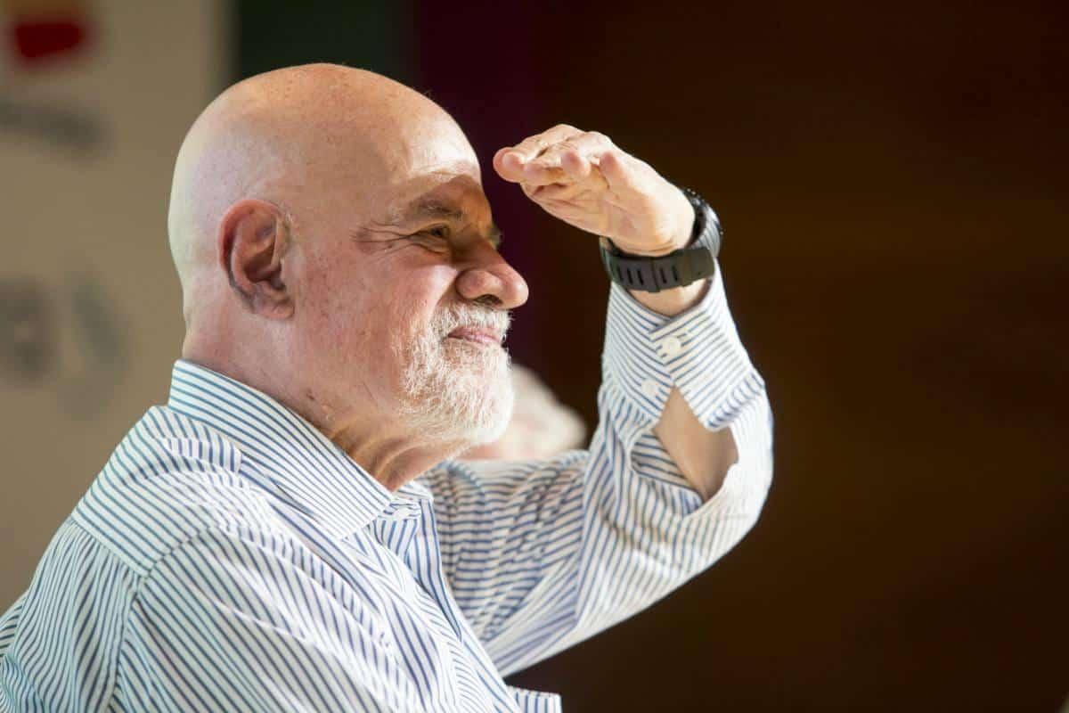 Tercer día: charla 'Los amigos echan cuentos de Gabo'. Foto: David Estrada/ FNPI.