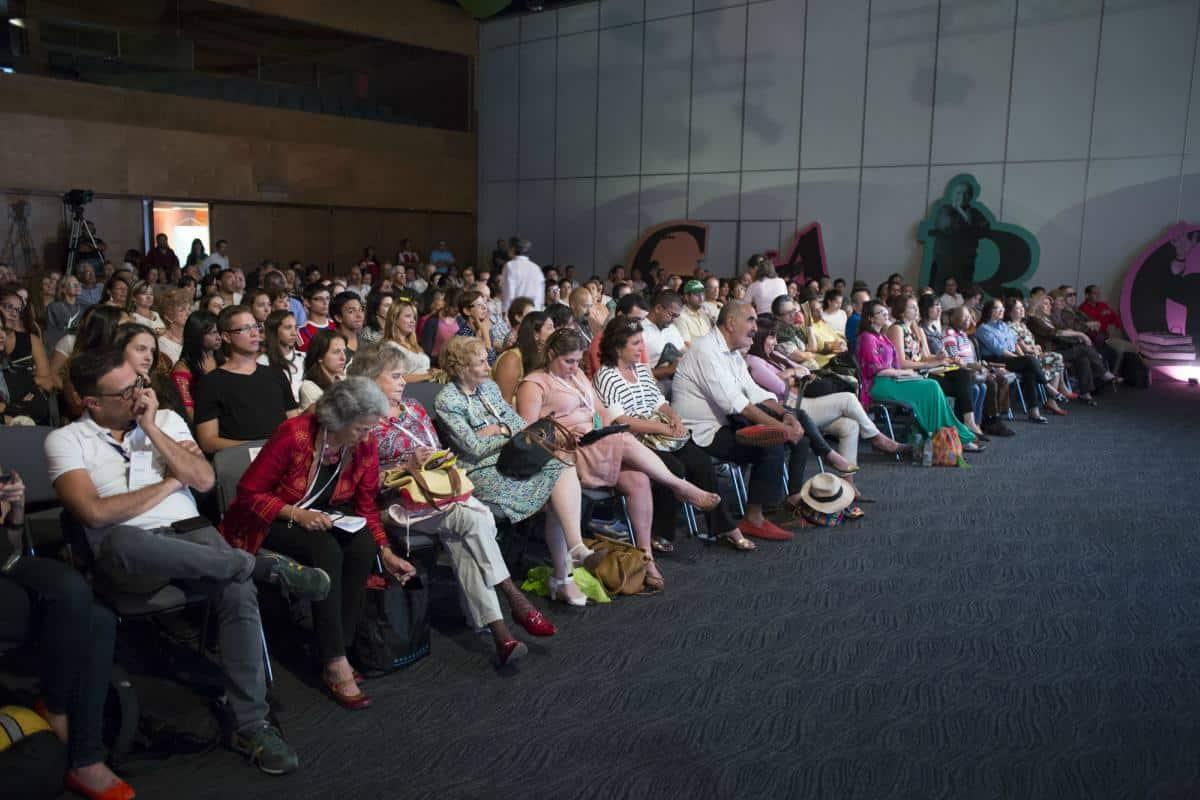 Charla 'Gabo, el periodismo y el lenguaje'. Foto: David Estrada/FNPI.