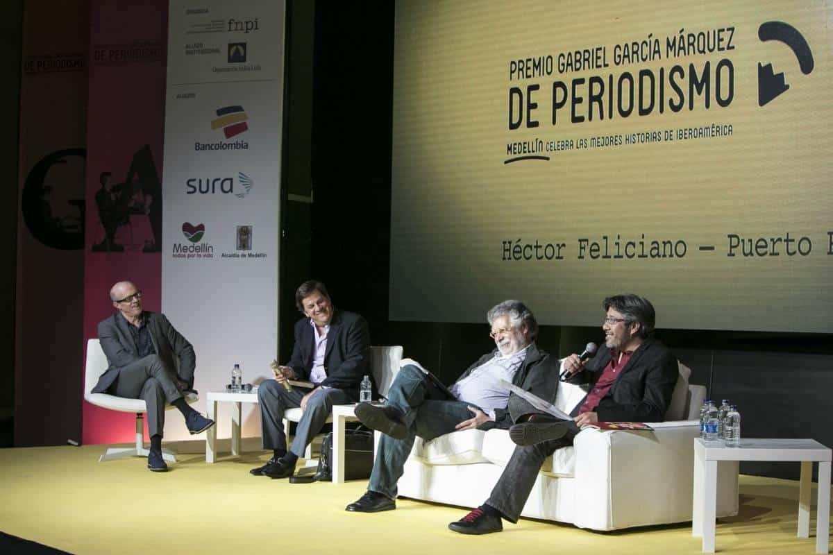 Charla 'Gabo, el periodismo y el lenguaje'. Foto: Julián Roldán/FNPI.