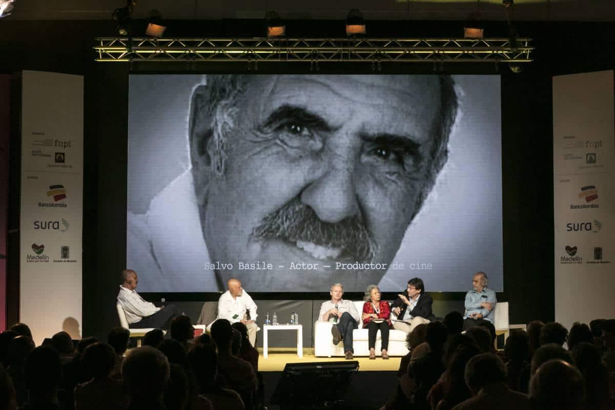 Charla 'Gabo y el cine'. Foto: David Estrada/FNPI.