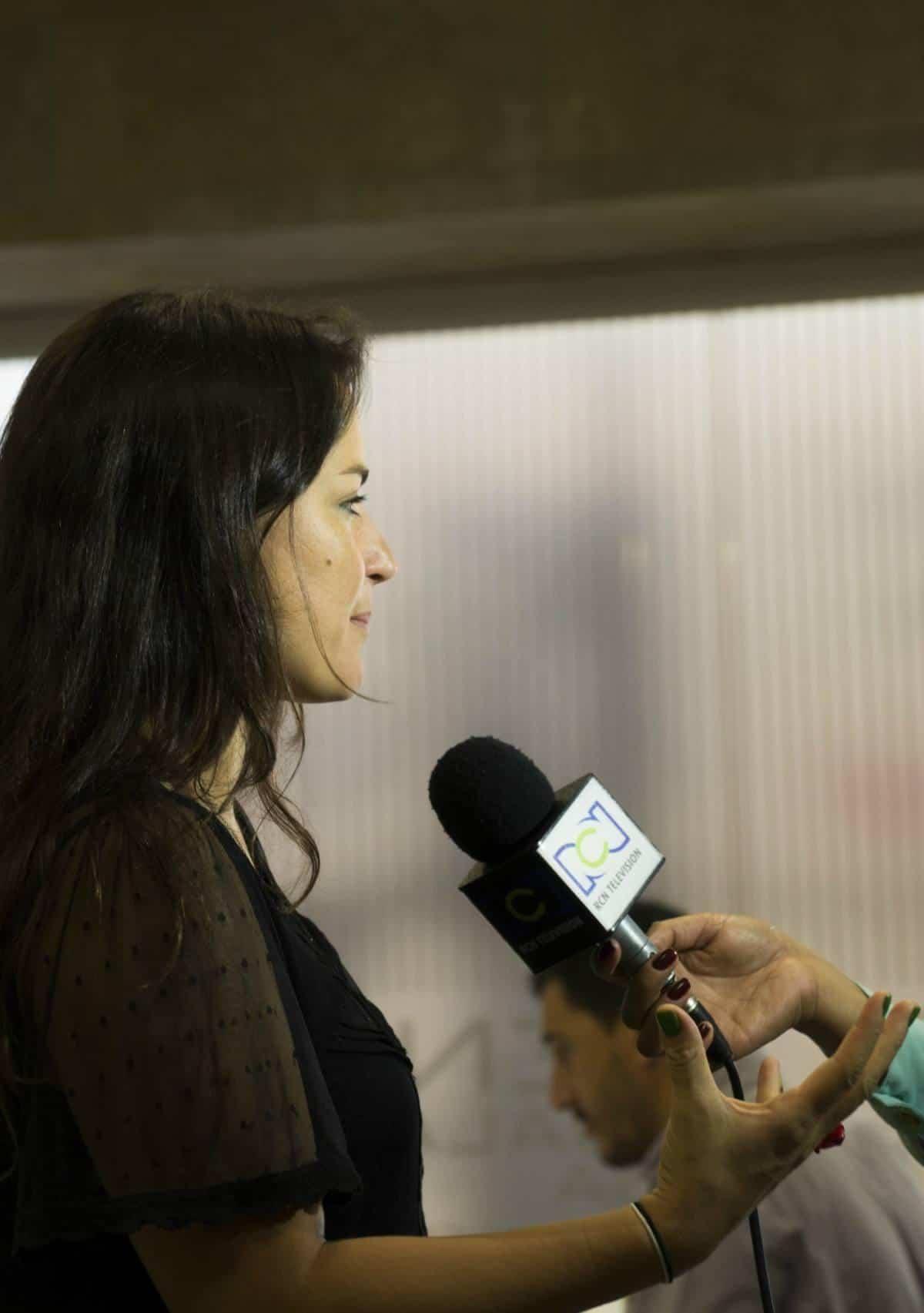 Rueda de prensa con los ganadores de las categorías del Premio: Texto, Imagen, Cobertura, Innovación y Excelencia. Foto: Isabel Tobón/ FNPI.