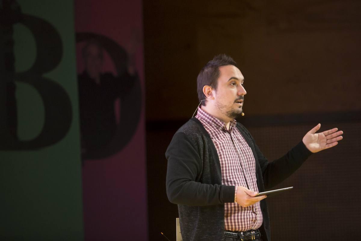 Segundo día: charla 'Si te he visto me acuerdo: narrativa visual, visualización de datos e impacto en la audiencia'. Foto: David Estrada/ FNPI.