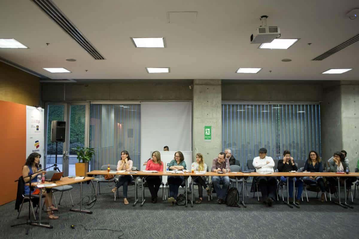 Segundo día: Taller de crónica con Josefina Licitra. Foto: David Estrada/FNPI.