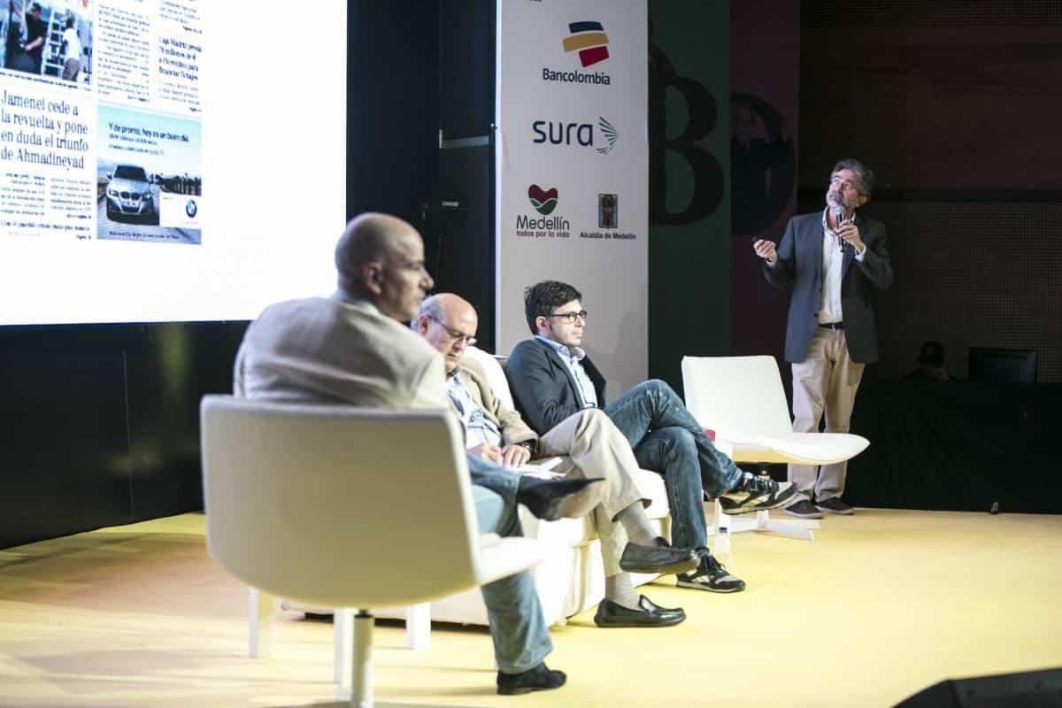 Segundo día: Panel sobre investigación periodística. Foto: Julián Roldán/ FNPI.