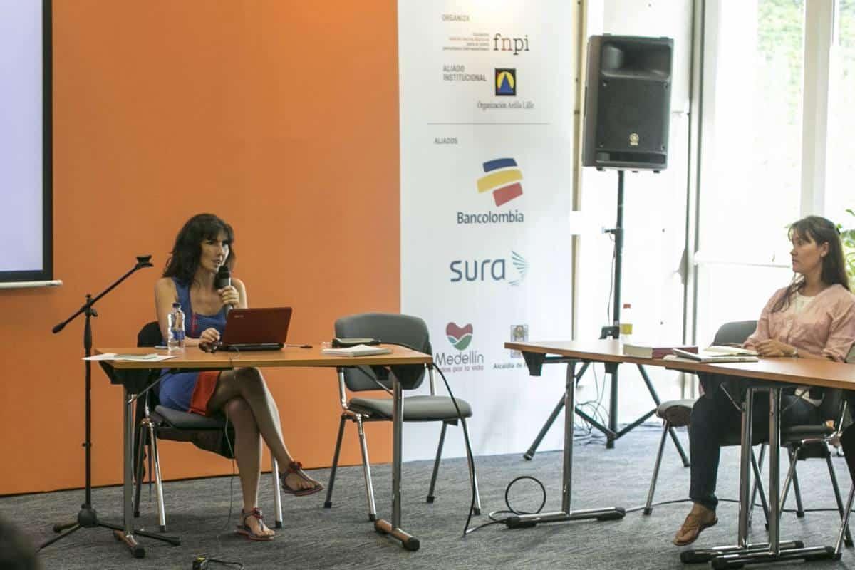 Segundo día: Taller de crónica con Josefina Licitra. Foto: Julián Roldán/FNPI.