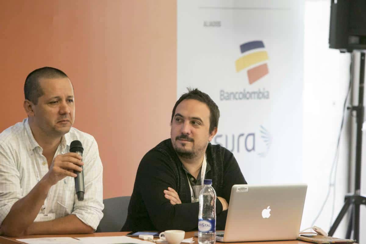 Tercer día: Taller de visualización de datos con Xaquín González. Foto: Julián Roldán/FNPI.
