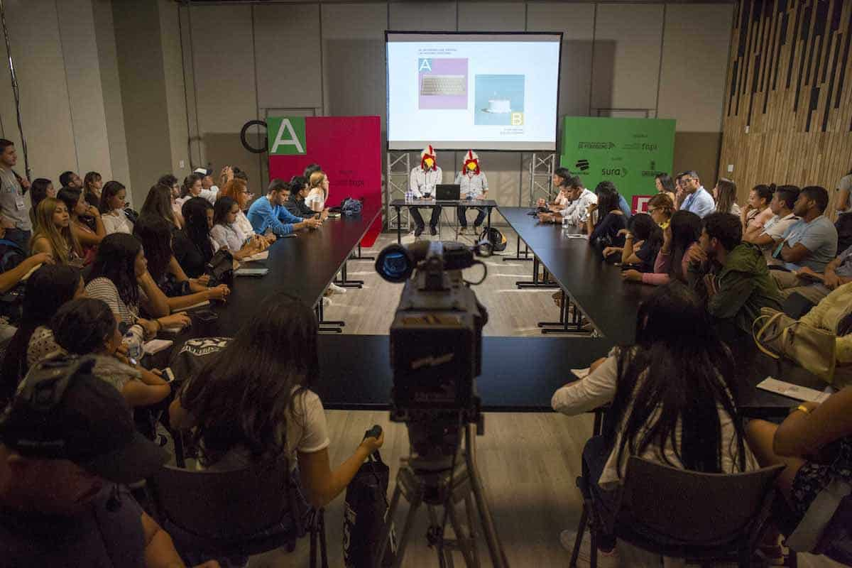Actualidad Panamericana en el Festival Gabo 2017.Foto: David Estrada Larrañeta/FNPI