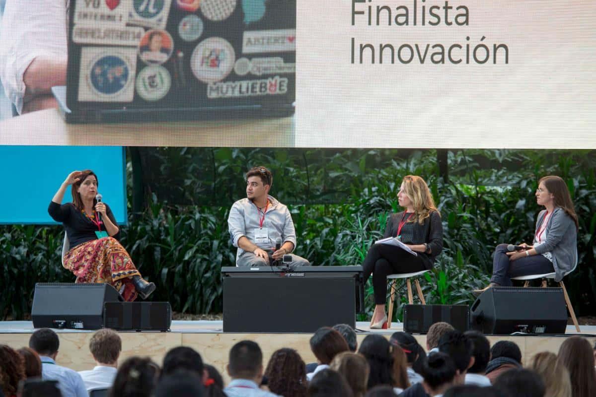 En el inicio del Festival, finalistas del Premio Gabo compartieron detalles de sus trabajos durante la maratón de las historias. David Estrada/FNPI