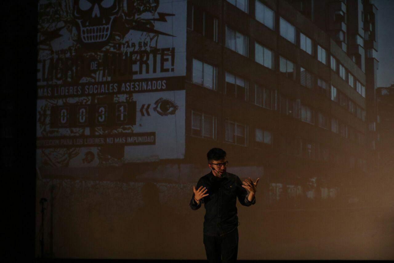 Camilo Jiménez, director editorial de Vice Colombia y el medio digital Pacifista, que se enfoca en los acuerdos entre el Gobierno y las Farc, y la construcción de paz en el país, conversó con los asistentes a una de charlas de Periodismo de tú a tú, en el Festival Gabo