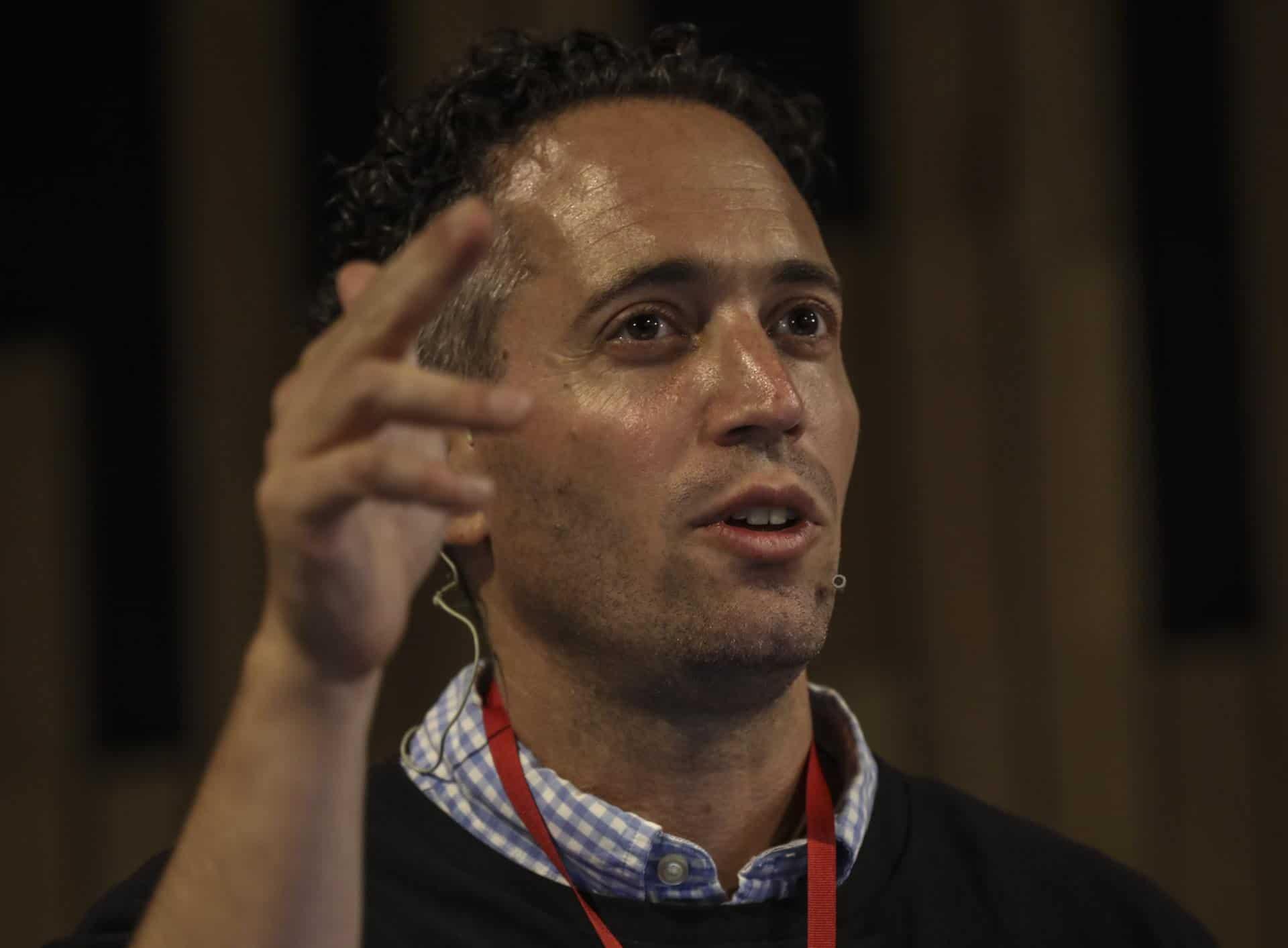 Charla BuzzFeed: ¿Cómo construir un medio basado en el uso de datos?. Foto: Joaquín Sarmiento / FNPI