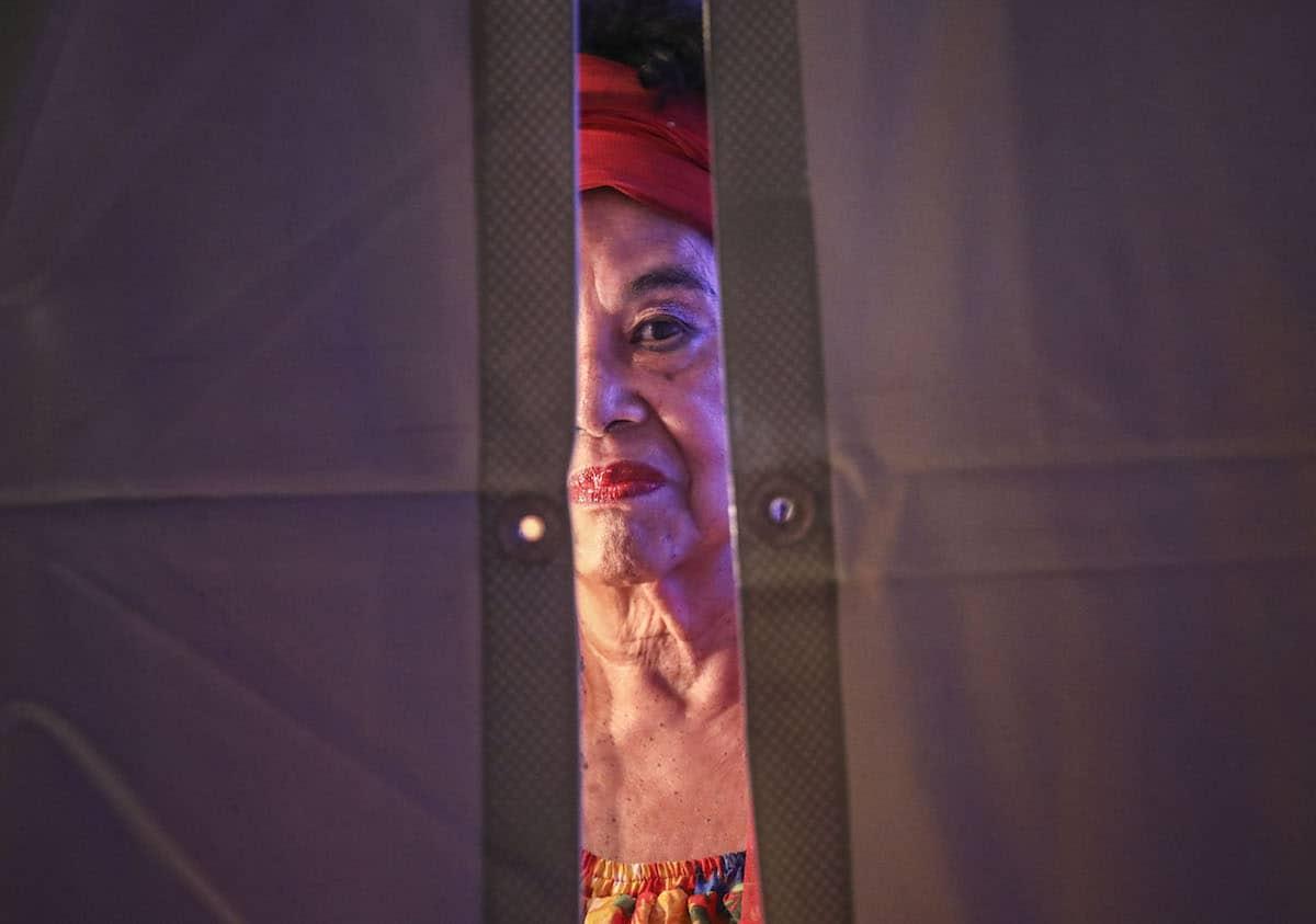 Toto La Momposina en la Ceremonia del Premio Gabo 2017. Foto: Joaquín Sarmiento / FNPI