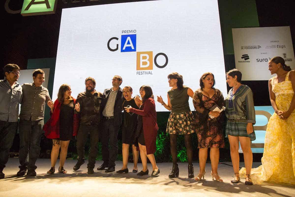 Ceremonia del Premio Gabo 2017.