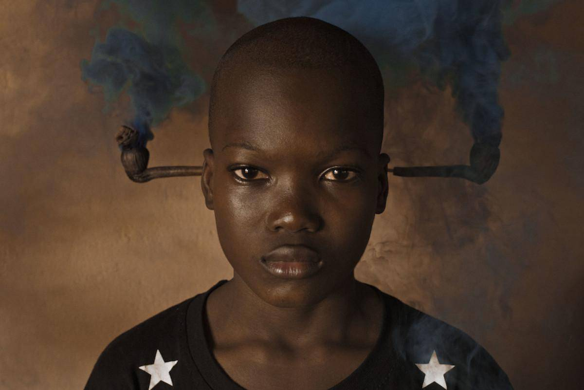 """BENIN. Ouidah. 2016. From the series """"Mindnight at the Crossroads"""". (Collaboration with Bruno Morais.)"""