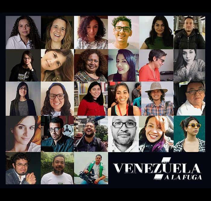 Autores de Venezuela a la fuga