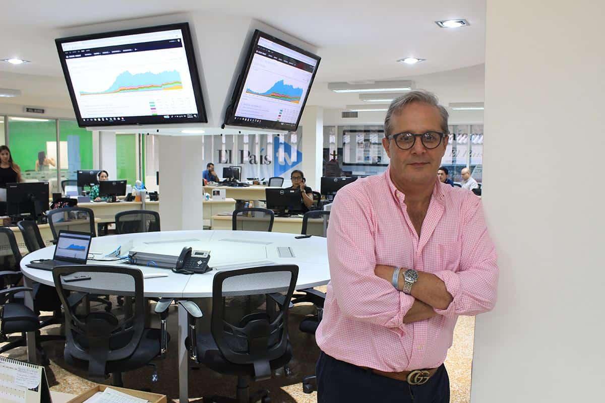Diego Martínez, director de información de El País de Cali