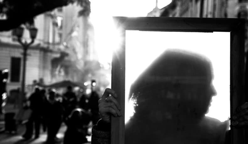 Memoria, verdad y justicia para las pibas. Fotos de Leonardo Vaca y María Florencia Alcaraz, publicadas en la revista Anfibia.