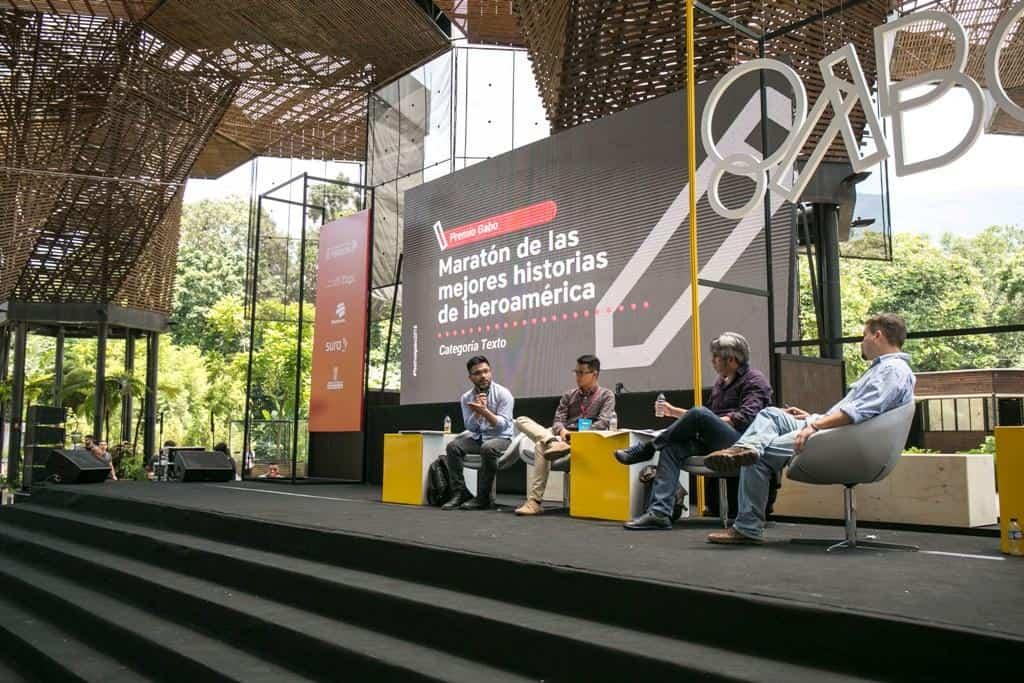 Maratón de las mejores historias de Iberoamérica categoría Texto. Foto: David Estrada/FNPI.