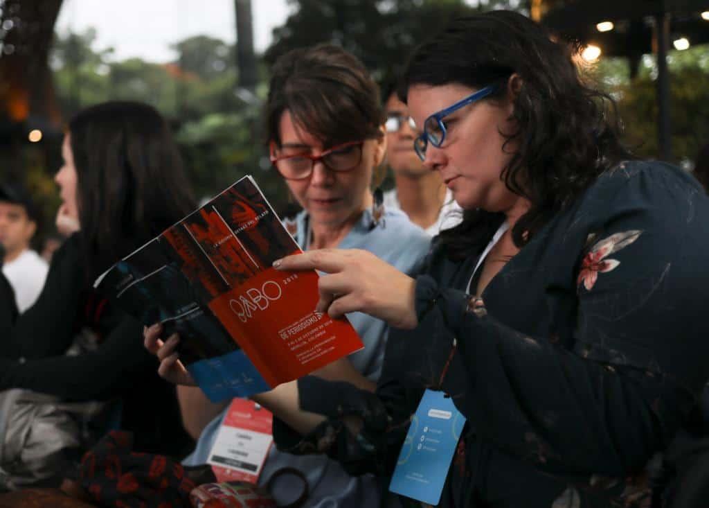 Asistentes al Festival Gabo 2018. Foto: Joaquín Sarmiento/FNPI.