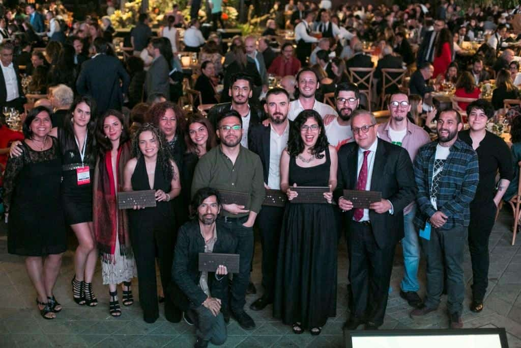 Ganadores del Premio Gabo 2018. Foto: David Estrada Larrañeta/FNPI.