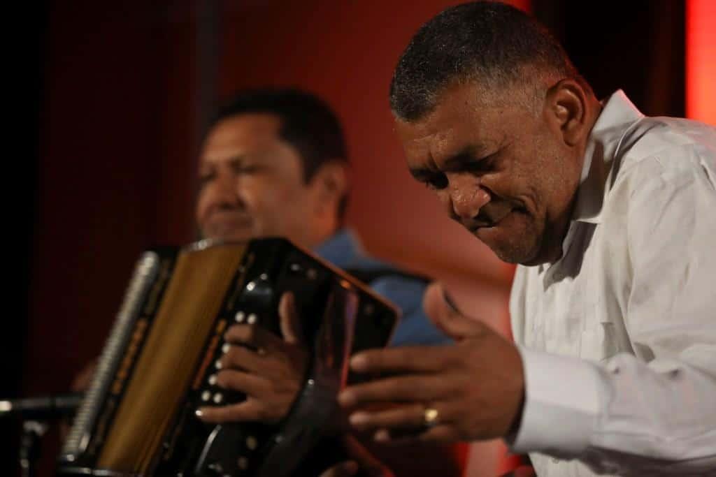 Ivo Díaz en la Tertulia vallenata del Festival Gabo 2018. Foto: Joaquín Sarmiento/FNPI.