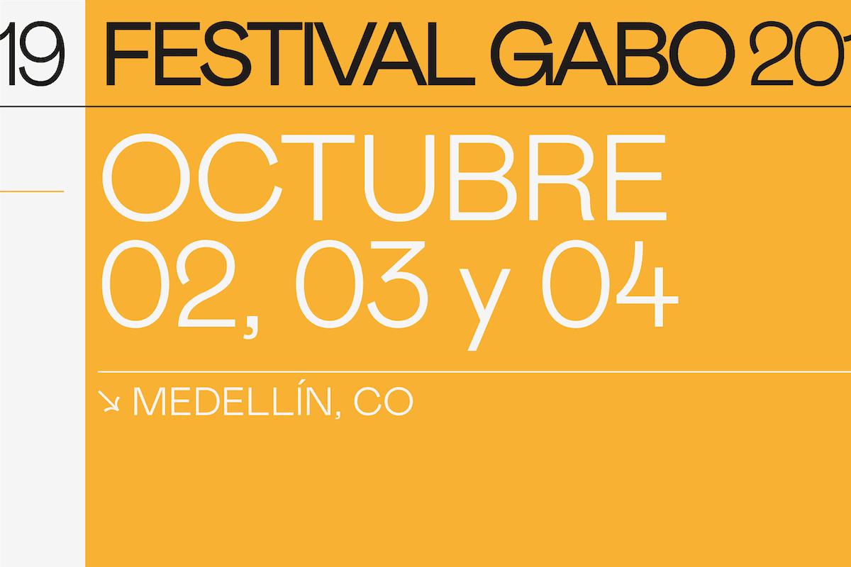 Agendate Festival Gabo