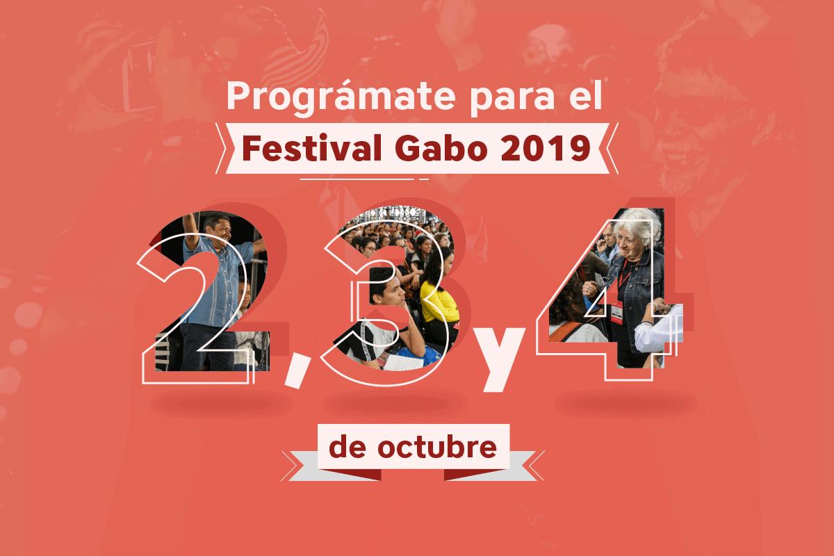 Programación festival gabo 2019