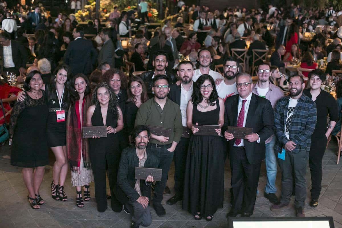 Ganadores Premio Gabo 2018. Foto: David Estrada Larrañeta /FNPI