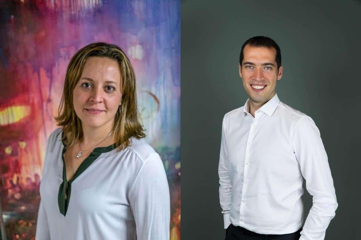 Cristina Tardáguila y Baybars Örsek.