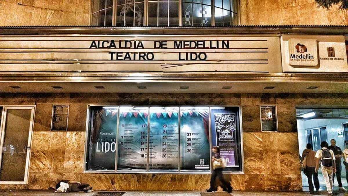 Teatro Lido, Cinemateca Municipal de Medellín.
