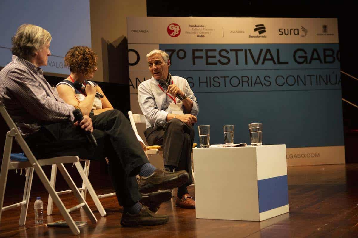 Charla '¿Por qué arde la selva?' en el Festival Gabo